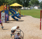 children playing on skyview park