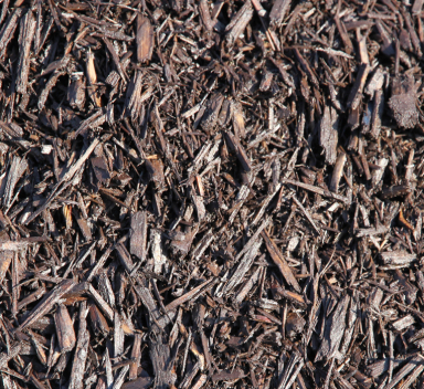 coffee colored mulch
