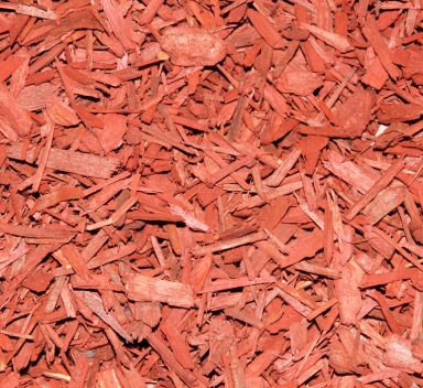 red starbust mulch