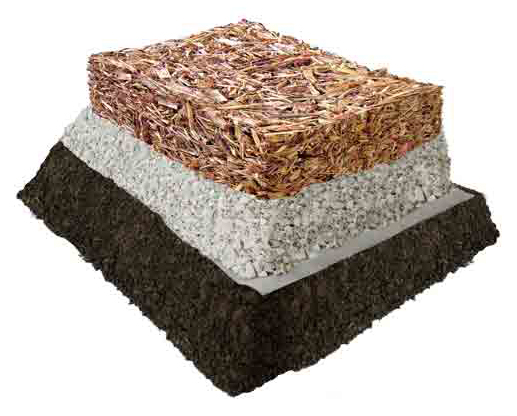 layers of Bonded Woodcarpet System 6