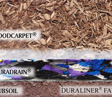 materials used in wood carpet