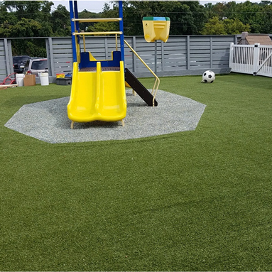 Safe Playground Flooring Surface Mats For Playgrounds